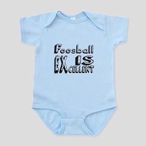 Foosball Is Excellent Baby Light Bodysuit