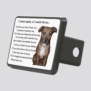 pitbullbig Rectangular Hitch Cover