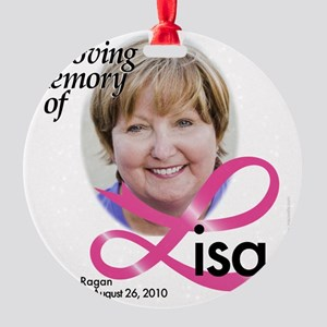 Lisa Ragan Round Ornament