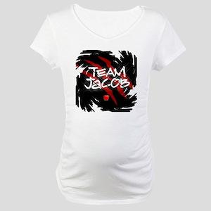2-corgicoaster Maternity T-Shirt