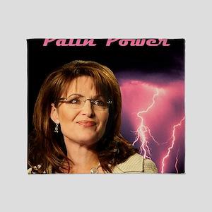 P-PalinPower1 Throw Blanket