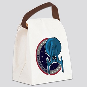 enterprise-mission-patch copy Canvas Lunch Bag