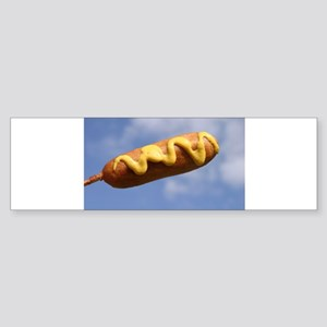 Corn Dog In The Sky with Must Bumper Sticker