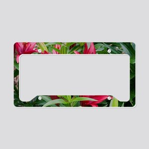 greatbigredlilies License Plate Holder