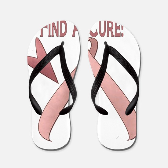 3-BC Lets find a cure 2 Flip Flops