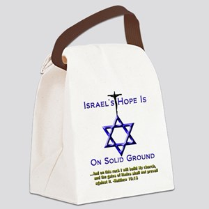 NEW_Israels Hope Tee and Pillow Canvas Lunch Bag