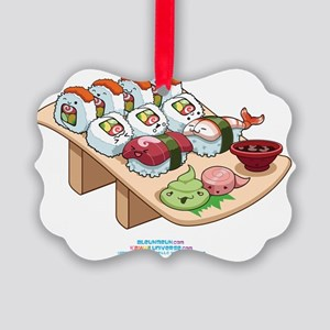 Kawaii-Cali-Sushi-Cafe-Trans Picture Ornament