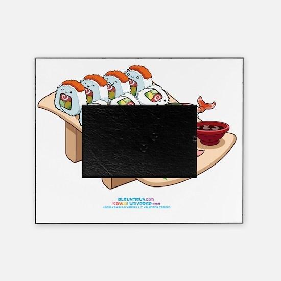 Kawaii-Cali-Sushi-Cafe-Trans Picture Frame