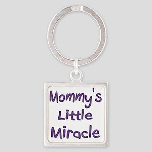 mommyslittlemiracle Square Keychain