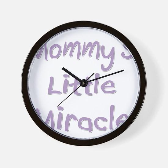 mommyslittlemiracle-drk Wall Clock