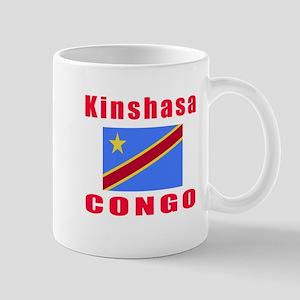 Kinshasa Congo Designs Mug