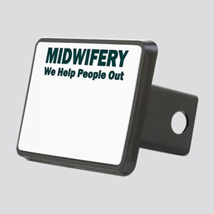MIDWIFERY WE HELP PEOPLE OUT Hitch Cover