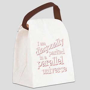 diagonallydrk Canvas Lunch Bag