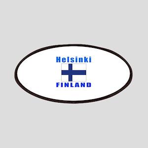 Helsinki Finland Designs Patches