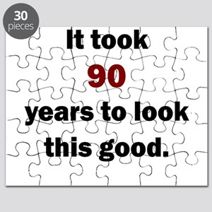 IT TOOK 90 YEARS TO LOOK THIS GOOD Puzzle