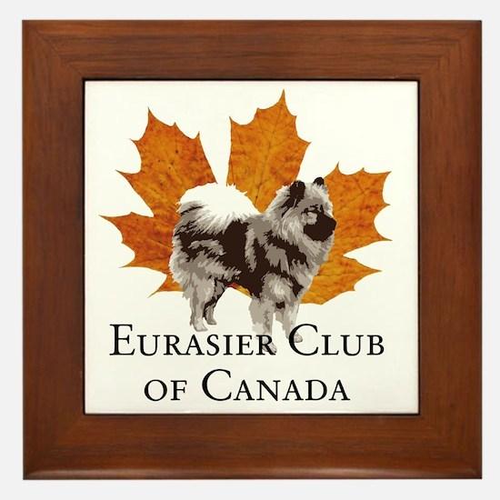 ECC Logo Max Framed Tile