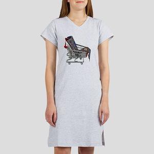 RugsShoppingCart090410 Women's Nightshirt