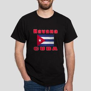 Havana Cuba Designs Dark T-Shirt