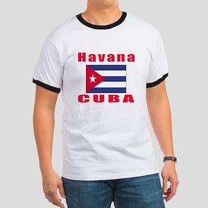 Havana Cuba Designs Ringer T