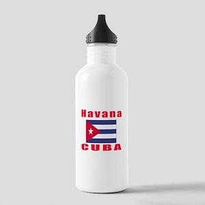 Havana Cuba Designs Stainless Water Bottle 1.0L