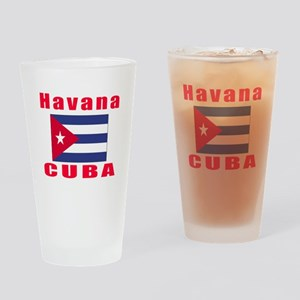 Havana Cuba Designs Drinking Glass