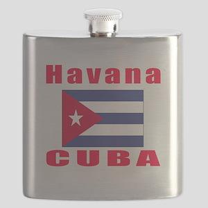 Havana Cuba Designs Flask