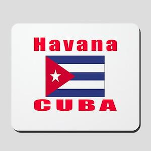 Havana Cuba Designs Mousepad