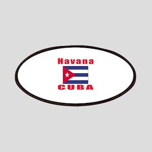 Havana Cuba Designs Patches