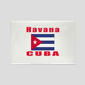 Havana Cuba Designs Rectangle Magnet