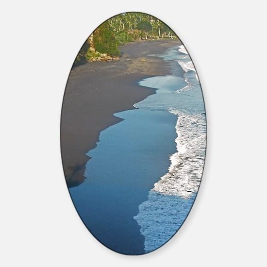 bali western shore Sticker (Oval)