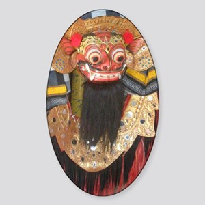 balinese barong Sticker (Oval)