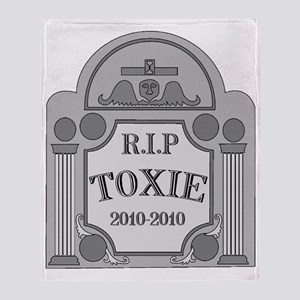 toxie Throw Blanket