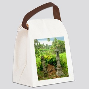 rice field shrine bali 1 Canvas Lunch Bag