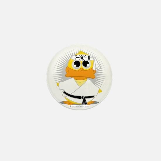 Karate-Duck Mini Button