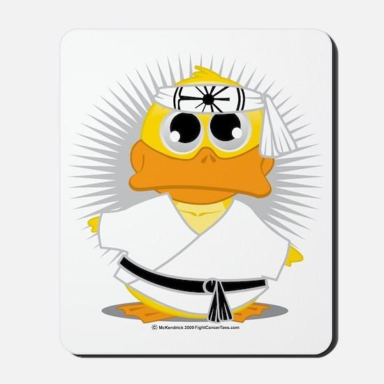 Karate-Duck Mousepad