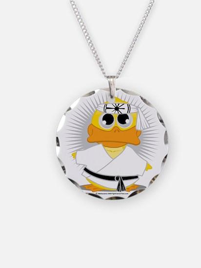 Karate-Duck Necklace
