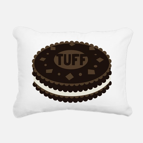 Tuff Cookie Rectangular Canvas Pillow