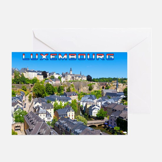 Luxembourg 01C Greeting Card