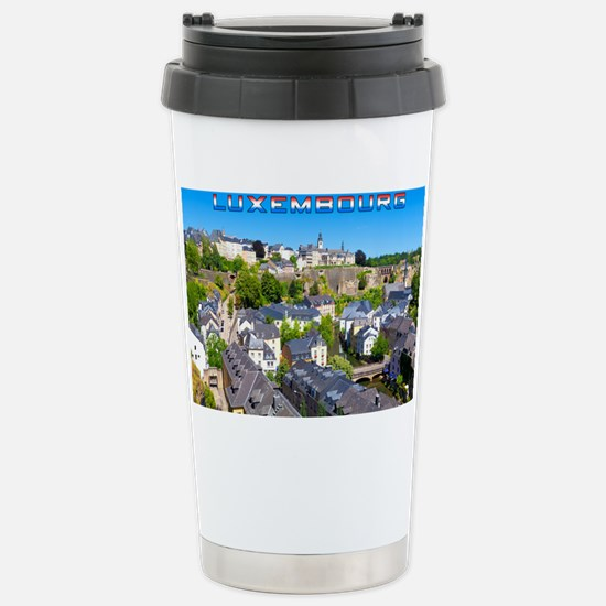 Luxembourg 01C Stainless Steel Travel Mug