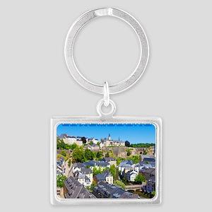 Luxembourg 01C Landscape Keychain