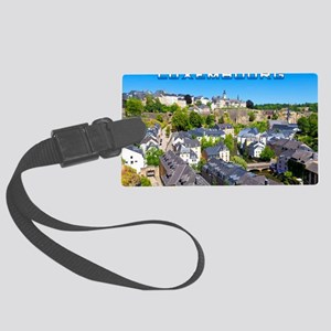 Luxembourg 01C Large Luggage Tag