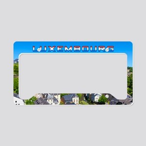 Luxembourg 01C License Plate Holder