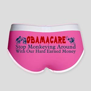 Obamacare Women's Boy Brief