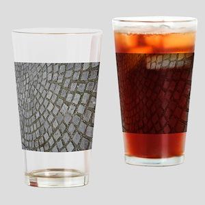 Swirl and Twirl Drinking Glass