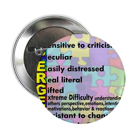 "aspergers traits 3 copy 2.25"" Button"