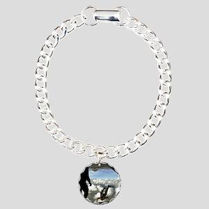 USAF PJ FPP Charm Bracelet, One Charm