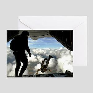 USAF PJ FPP Greeting Card