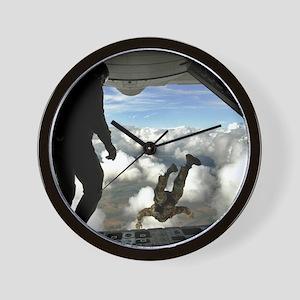 USAF PJ FPP Wall Clock