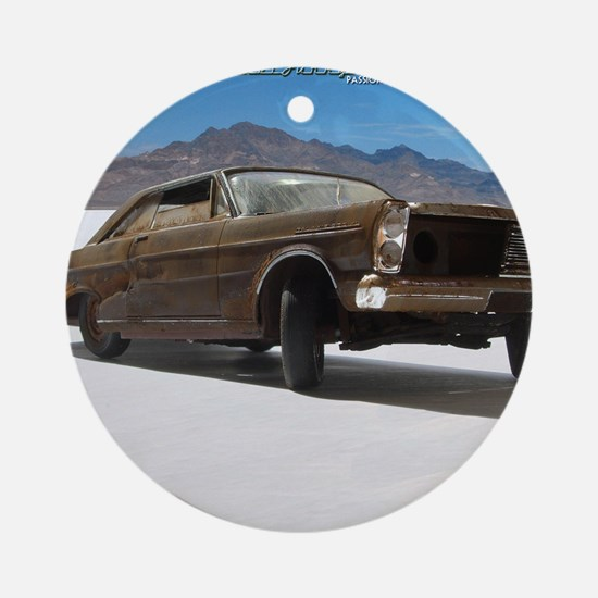 MJY Calendar - 65 Galaxie salt dese Round Ornament