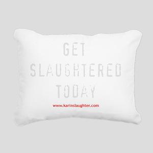 todaydark Rectangular Canvas Pillow